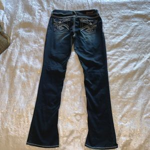 Hydraulic 11/12 dark denim jeans Lola micro boot